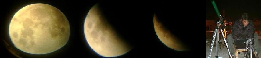 Eclipse de luna, 20 de febrero. APAN, HGO.